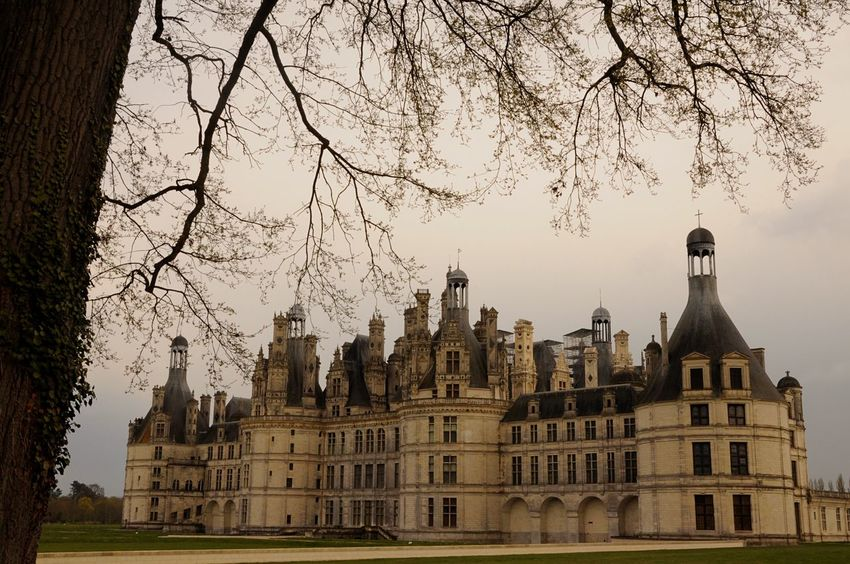To King Francis, this is just a Hunting Lodge . Chateau De Chambord Château Castle France Vintage
