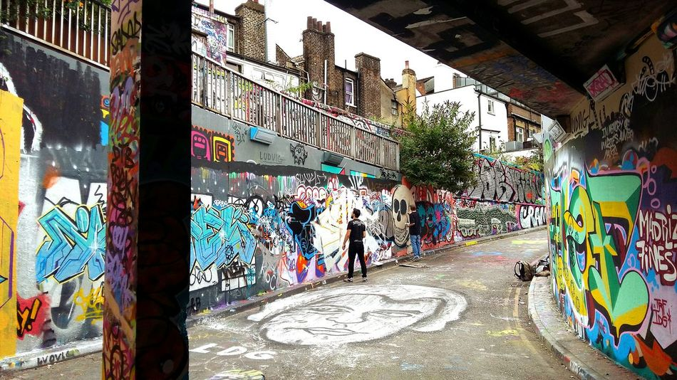Street Art Multi Colored Outdoors Street Photography London Leake St Graffiti Finding New Frontiers EyeEm LOST IN London Adventures In The City