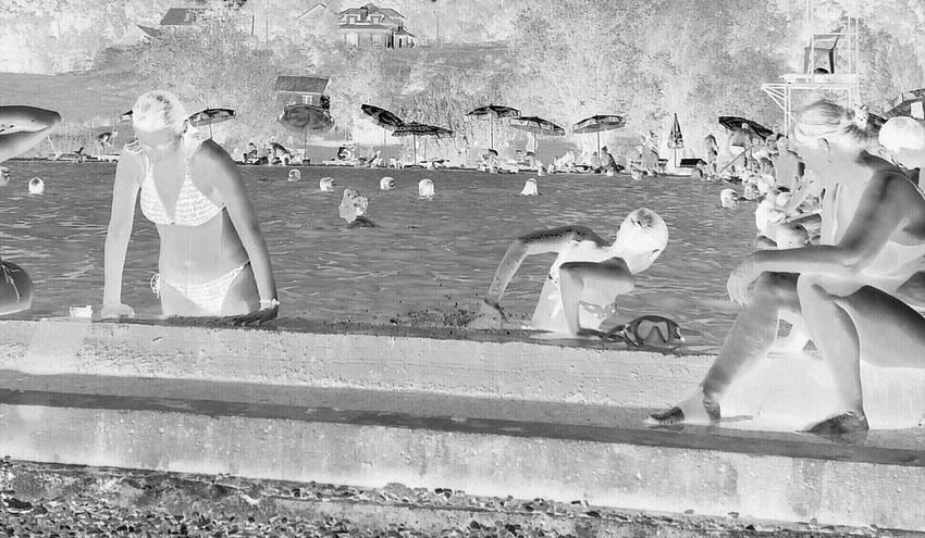 Eyeemphotography EyeEm EyeEm Gallery Sirens Swimming Pool Negative People Together By August 3 2016