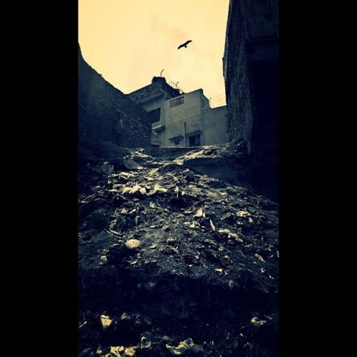 Happiness is a state of mind .. Slums Nalalai Garbage 5megapixels
