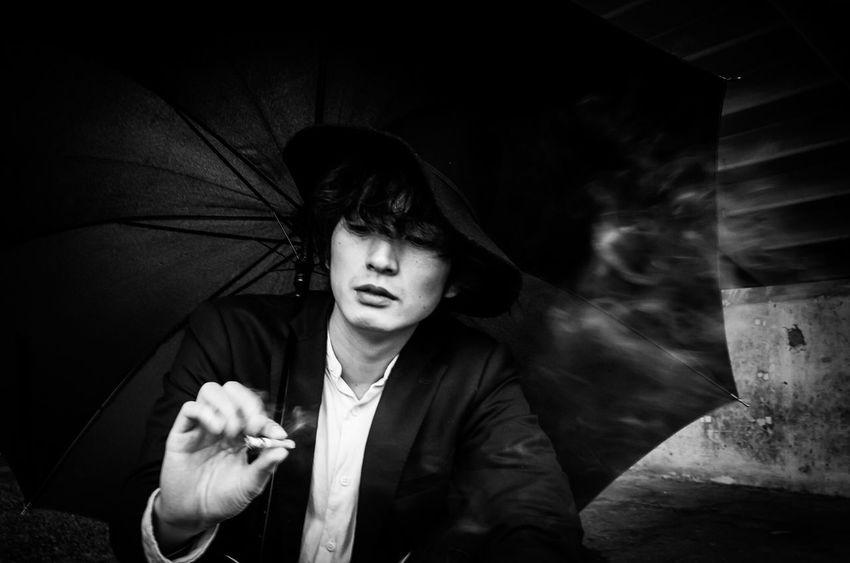 Portrait Model B&W PortraitYuta Street Japan