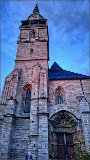 Marktkirche St. Bonifacius (Bad Langensalza) Architecture & Statues Historical Building Gotik Style  Gotic Architecture Traveling Silhouette Reflection Sehenswürdigkeit Bad Langensalza