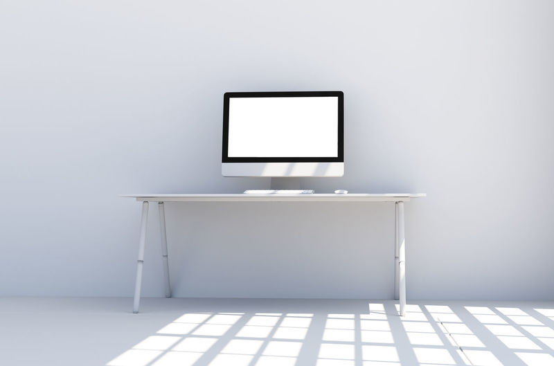 Absence Blank Computer Copy Space Domestic Room Empty Flat Screen Flooring Frame Home Home Interior Indoors  Modern No People Picture Frame Seat Simplicity Technology Television Set Wall - Building Feature White Color