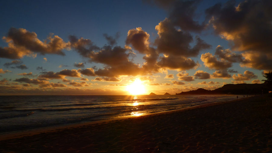 Sunrise on October 23rd Atmosphere Atmospheric Mood Cloud Cloud - Sky Cloudscape Cloudy Dramatic Sky Kailua Oahu Kailua! Kailua, Hawai'i Kalama Light Majestic Moody Sky Orange Color Outdoors Rabbett Robert Abbett Silhouette Sky Storm Cloud Sun Sunrise Tranquil Scene Tranquility