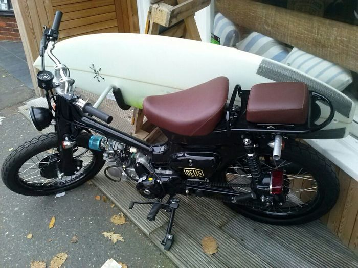 Motorcycle Driftin Surf Cafe EastWittering Chichester Westsussex