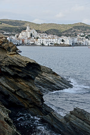 bay of Cadaques urban landscape, country view Cadaqués, Spain Catalonia City Costa Brava Country View No People Outdoors Rocks Sea Wintertime Travel Pictures Waterfrontview