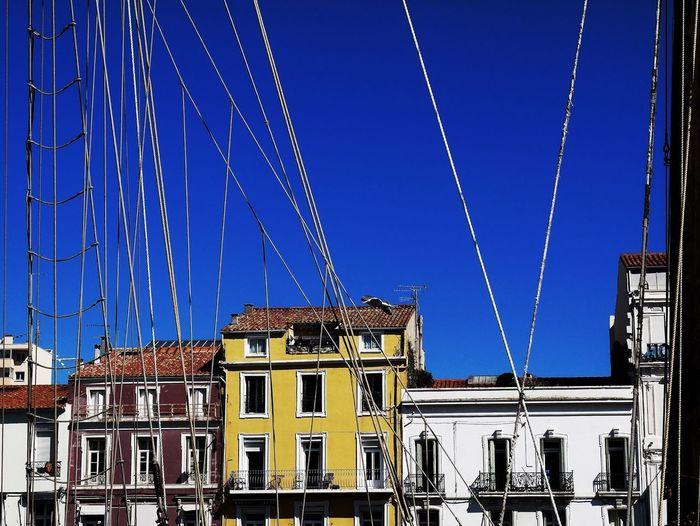 Ropes Mast Of