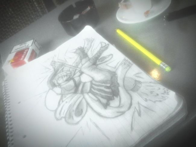 Taking Photos Relaxing Hi! Enjoying Life Drawing Manga Pertuis Peaceful Cofee Time Sofunny