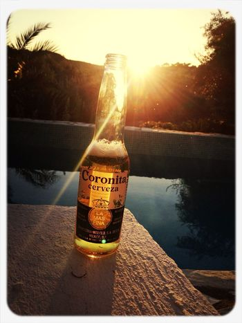 Miss those nights Hanging Out Sunset Beer