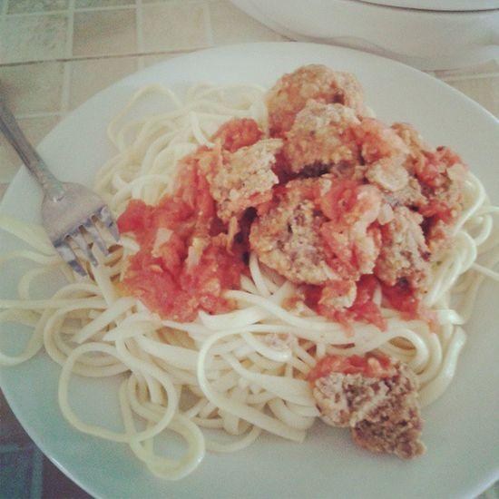 Spaguetti Meatball Delucious Yummi