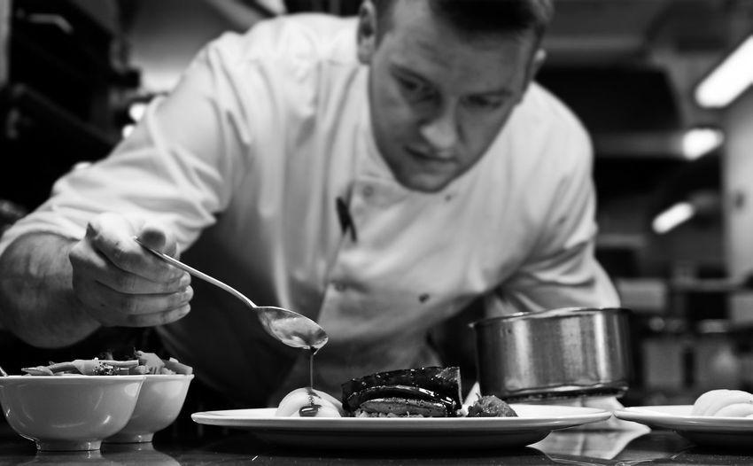 Black & White Black And White Black&white Blackandwhite Blackandwhite Photography Busy Chef Chef At Work Chef Life Eye4photography  EyeEm EyeEm Best Edits EyeEm Gallery Food Food And Drink Food Porn Foodporn Job Kitchen Kitchen Art London Sashalmi Service Work Working