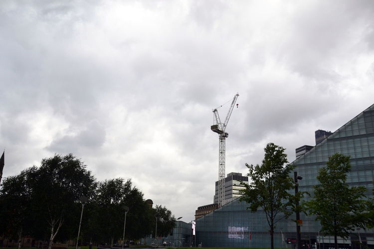 Architecture Building Exterior Built Structure City Cloud - Sky Day Factory Industry Low Angle View National Football Museum  No People Outdoors Sky Tree Urbis
