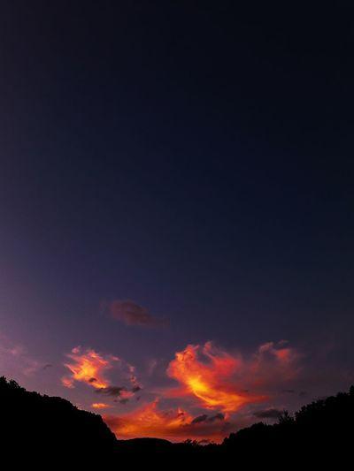 Sunset #sun #clouds #skylovers #sky #nature #beautifulinnature #naturalbeauty photography landscape