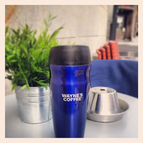 Mellanjobbenkaffe.. Waynes Kaffepaus