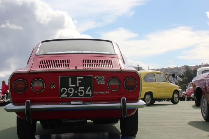 Madeira Classic Car Revival 2017 Classic Car Classic Car Show Cloud - Sky Day Land Vehicle Mode Of Transport No People Outdoors Red Sky Transportation
