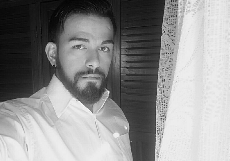 That's Me Art, Drawing, Creativity Tatto ✌ Today's Hot Look Beard Blackandwhite People Model Peace ✌ Backhome