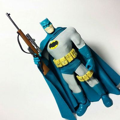 Sorry, guys. I've been working 12 hour days. But, for Batmanday  here's a repost of my favorite Batman figure. DC Dcuniverse Dccomics Thedarkknight Mezco Mezcobatman Toys Toyphotography Toypizza Toysarehellasick Toycollector Toycommunity Toycollection TheDarkKnightReturns