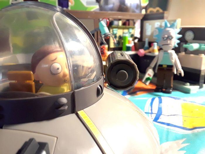 Ohio Ohio, USA Toys Rick And Morty Adultswim LEGO Collectables Indoors  Close-up No People