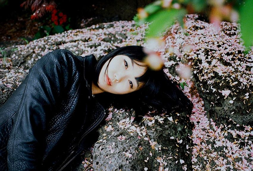 Mira Heo Self Portrait 35mm Film Film Photography April