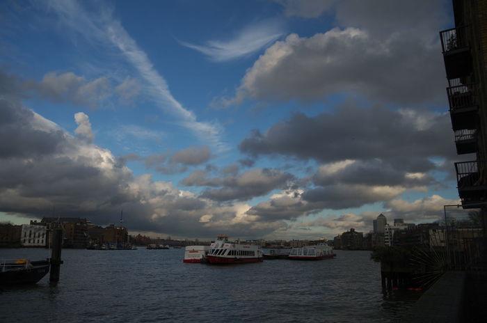 England River Ship Sky United Kingdom PENTAX K-30 London Endless Sky