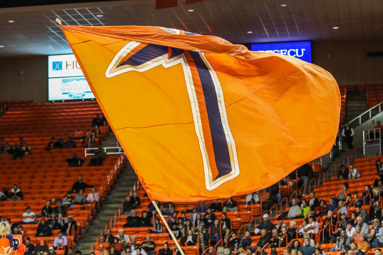 UTEP BASKETBALL! Building Exterior Day Hanging No People Orange Color Outdoors