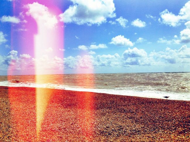 Mumma's birthday Beach Summer Clouds And Sky Hello World