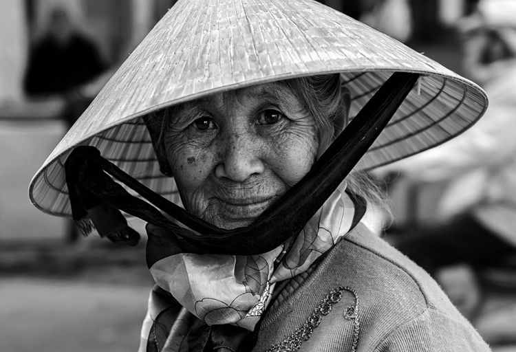 Portrait Of An Asian Senior Woman