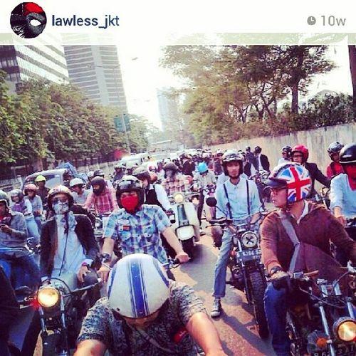 Latepost Djakarta Gentlemansride 2013
