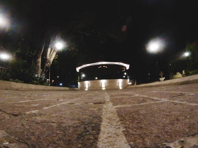 Night Illuminated Lighting Equipment Street Light The Way Forward Outdoors No People Architecture Tree