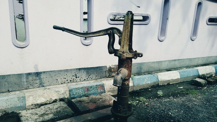 Pump it No People Street Photography Waterpump