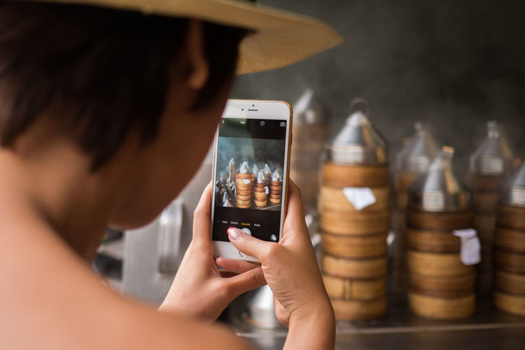 Close-up Focus On Foreground Foodie Foodphotography Mobile Phone Photographing Smart Phone