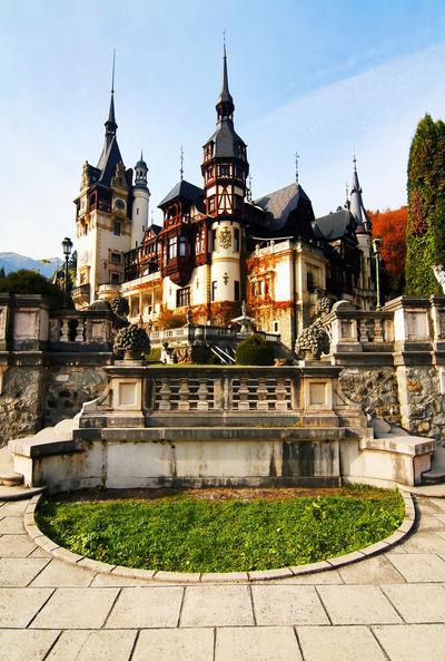 Sony Architecture Architecture Architecture_collection Building Exterior Built Structure Castle Europe Landmark Luxurious Luxury Peles Castle Romania Sinaia Travel Travel Photography