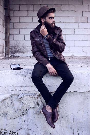 Brown Model Fashion Beard Style