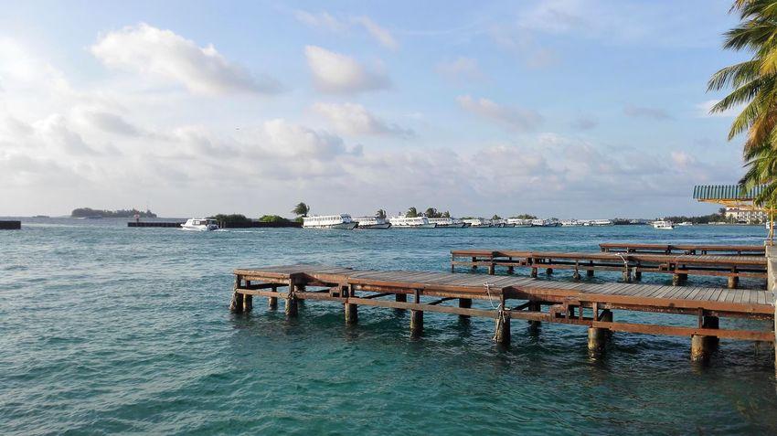 Malecity NatureAtItsBest Beauty In Nature Sea Water Nautical Vessel Mobilephotography NoEditNoFilter