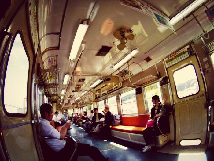 ロォカル線に乗って♪ Train Fisheye 小湊鉄道