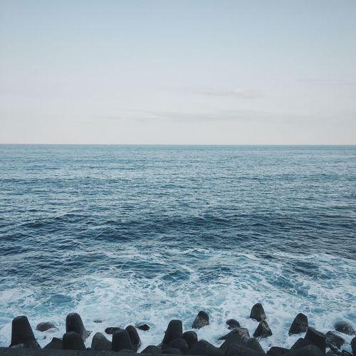 Blue Wave Sea Sea And Sky