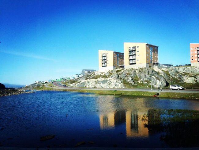 Lake View Lakescape Nuuk Wonderful Place Wonderfuld Greenland