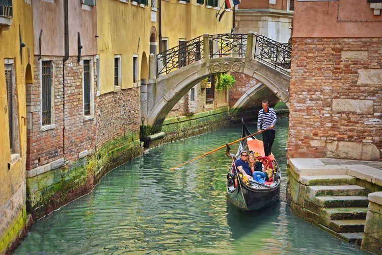Venice, Italy Italy Italia Venezia Travel Destinations Travel Photography Nikon OpenEdit Scenics Gondola - Traditional Boat Nautical Vessel Water Gondolier Architecture Gondola Canal