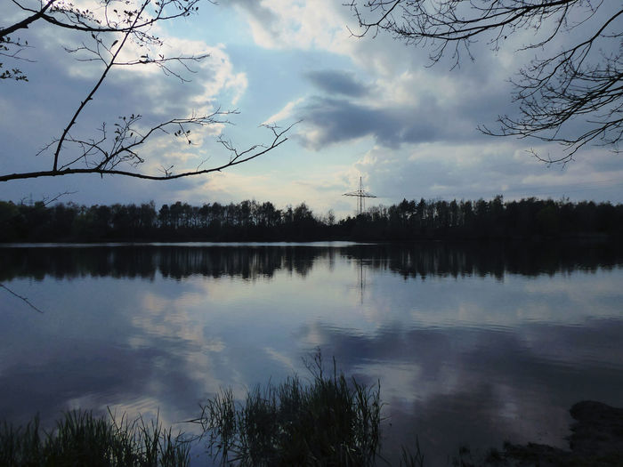 Spring is back again🤗 Golden Hour For My Friends 😍😘🎁 Perfect Day Perfect Sky🤗 Lucky Me🦄 Nature Is My Sanctuary 🌳💚 Nature Is My Religion Shine On❣❣❣ Cloudformations Cloudy Sky Lakeside Beauty Lakesideview My Little Lake😍 Surrounded By Nature The Dark Days Are Gone..🤗 Tree Water Lake Reflection Sky Cloud - Sky The Great Outdoors - 2019 EyeEm Awards