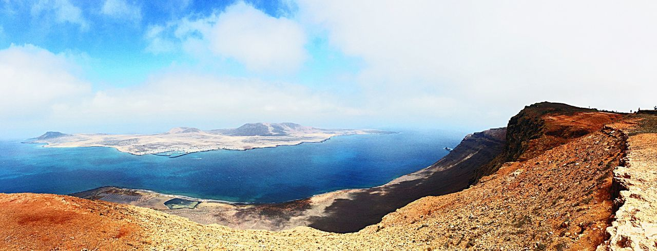 La Graciosa Volcano Rock Lagraciosa Ocean View Atlantic Ocean SPAIN Colors Lanzarote Canary Islands EyeEm Selects Scenics - Nature Sky Beauty In Nature Cloud - Sky Land Tranquility Nature Mountain Tranquil Scene Water Landscape Environment Non-urban Scene Day Idyllic Sea No People Beach Travel Outdoors