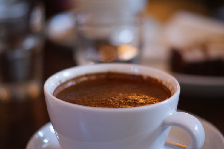 Turkish Coffee Bokeh Close-up Coffee - Drink Coffee Cup Day Drink Focus On Foreground Food And Drink Indoors  No People Refreshment Saucer Table Turkish Coffee