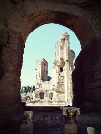 Baths of Caracalla in Rome. A great lesser known spot in Rome, away from the hustle and bustle. Probably my favourite place in Rome! Rome Italy Bathsofcaracalla Caracalla Ruins Ancient Architecture Ancient Ruins
