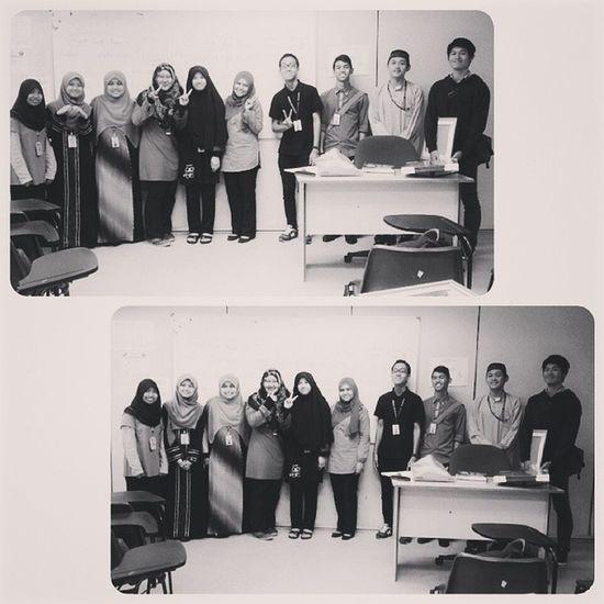 With Madam Syakirin..