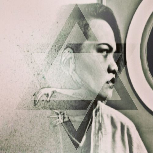 Doubleexposure Photoblend Blendingphotos Portrait woman retro retrowoman