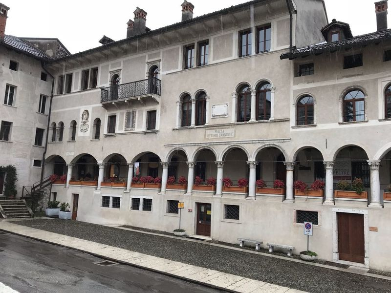 Feltre No Filter Feltre Veneto Italy Building Exterior Built Structure Architecture Window City No People Day Arch Building Nature Outdoors Sky Side By Side Street Residential District Sign Sunlight In A Row Religion Road