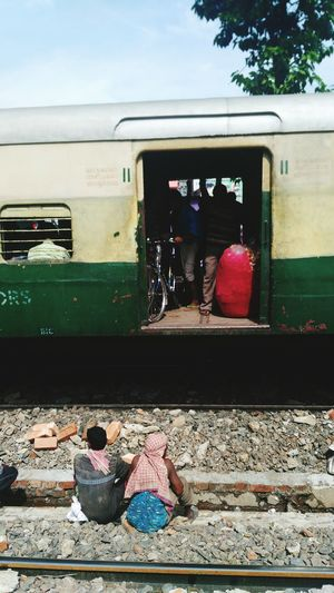 Bicycle Also In Train Compartment