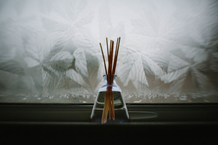 Close-up of scented sticks