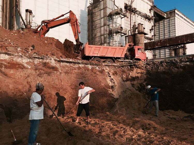 строительство Стройка работа работаем работатакаяработа рабочиебудни Architecture City Day Building Story Building Buildings