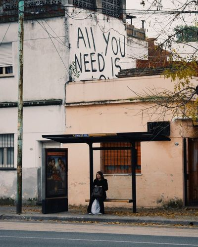 Argentina, 2016 Buenos Aires Argentina All You Need Is... Street Calle