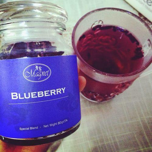 藍莓味 花果茶
